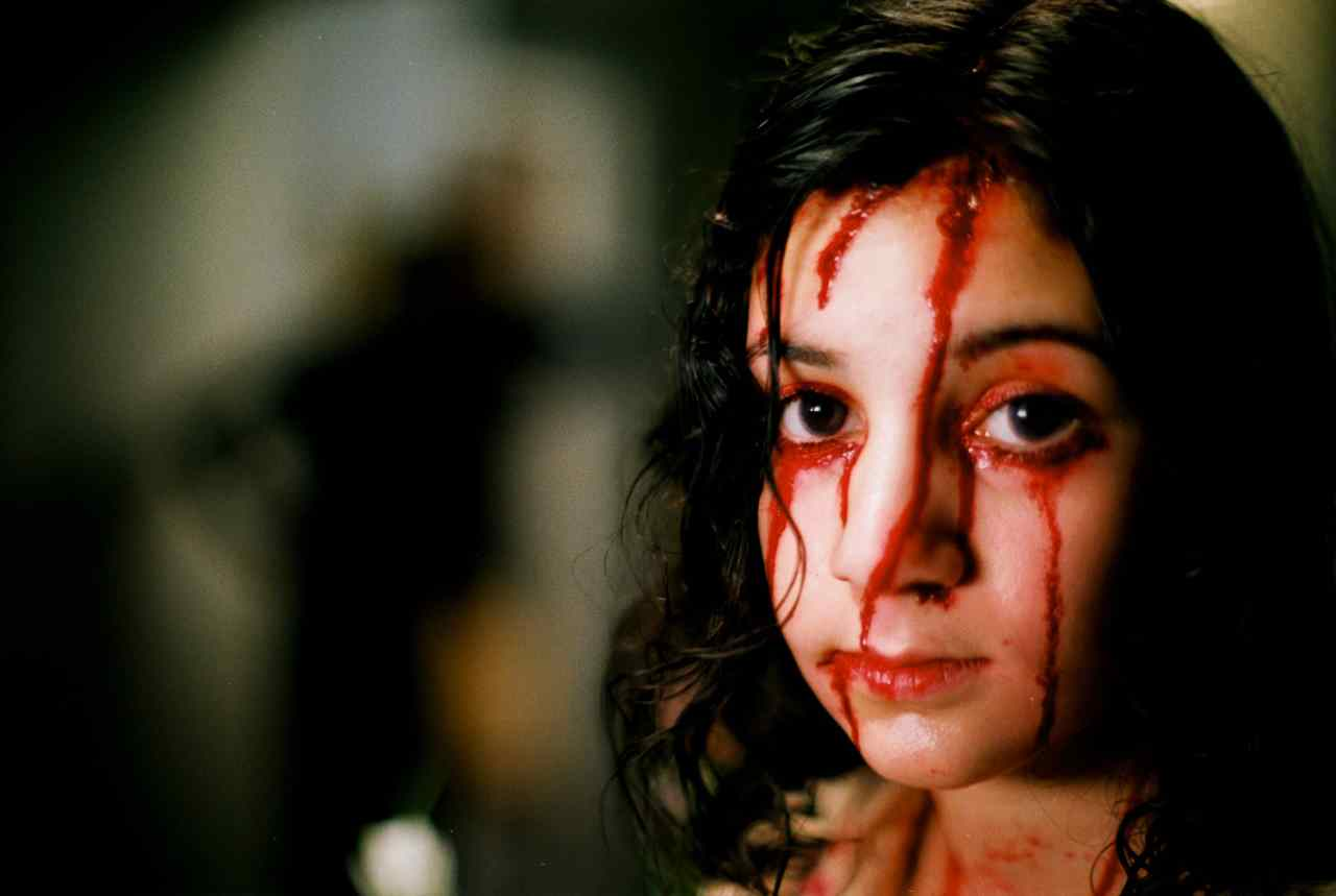 the swedish version of let the right one in with lina leandersson that was american remade with chloe moretz