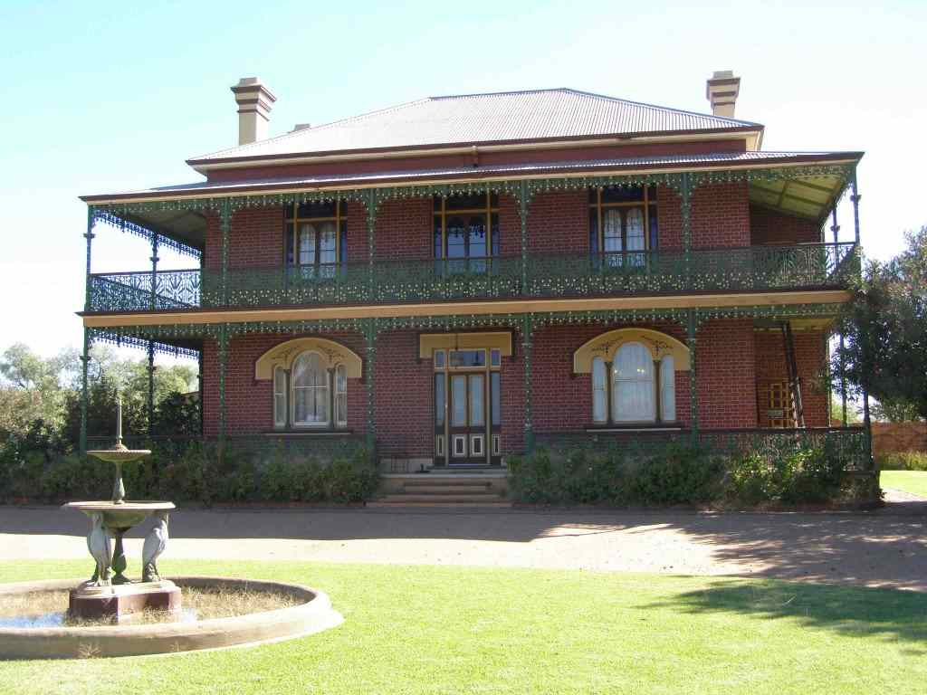 The haunted house Monte Cristo in New South Wales, Australia.