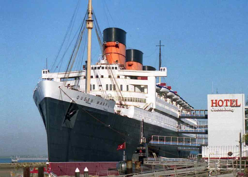 The Queen Mary Hotel in California, USA.