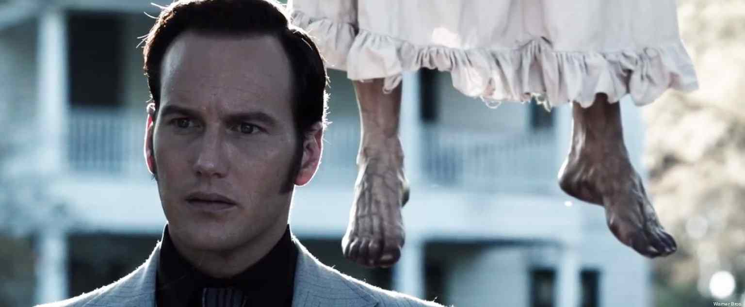 the conjuring starring real life paranormal investigators ed and lorraine warren.