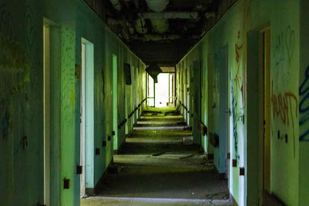 an abandoned hospital is a scary place to be.
