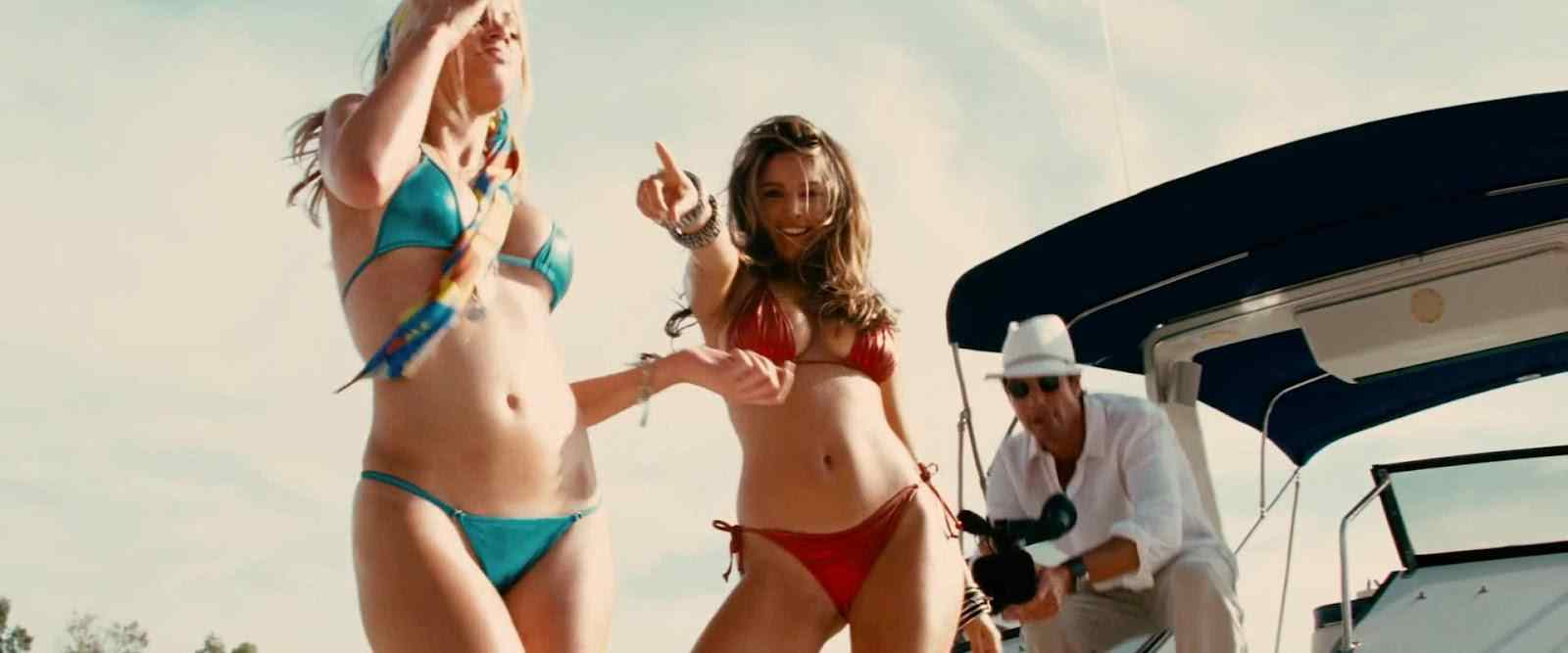 kelly brook from the hit movie Piranha 3d.