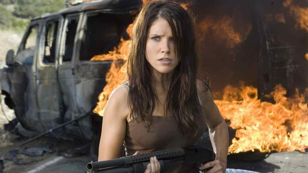 Sophia Bush in The Hitcher.