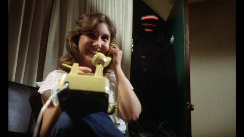 A helpless victim in The Toolbox Murders 1978, a grindhouse/slasher hybrid.