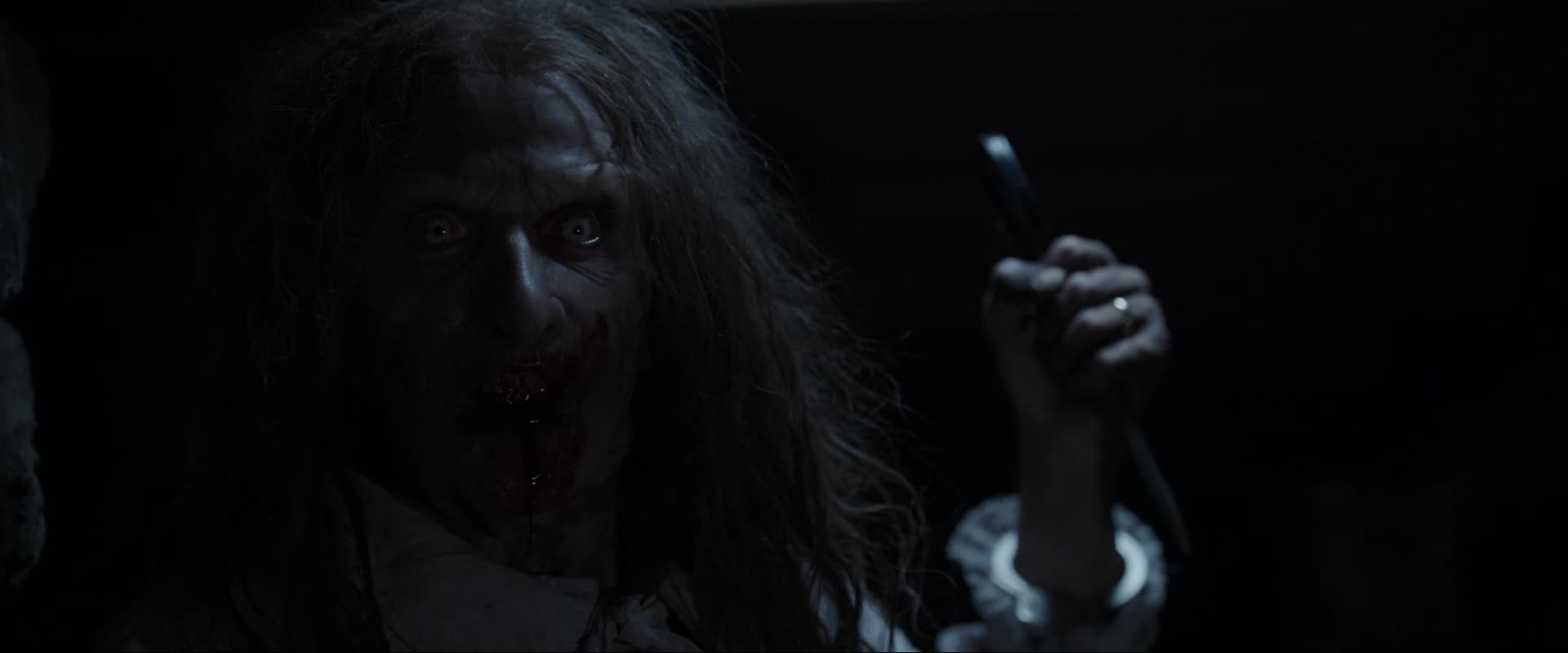 The witch who sacrificed her baby and then herself to the devil in the movie the conjuring.