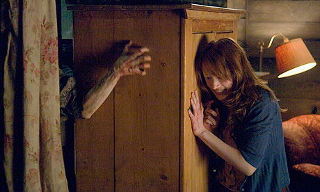 the movie The cabin in the woods, directed by Drew Goddard.