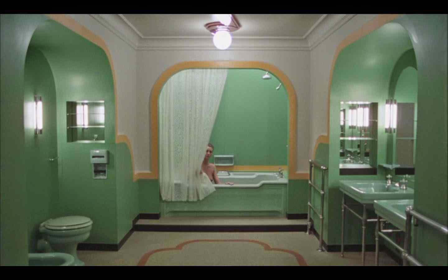 The lonely old lady who waits naked in bath tubs to haunt horny mens dreams.