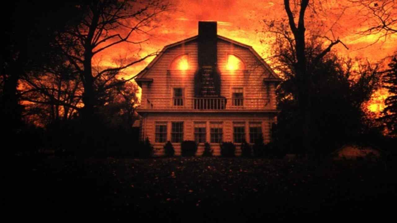 The Amityville horror house from Stuart Rosenberg's 1979 true story horror film The Amityville Horror.