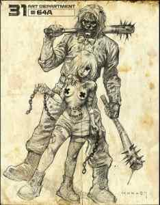 Concept art from Rob Zombie's 31.