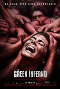 Poster for Eli Roth's The Green Inferno.