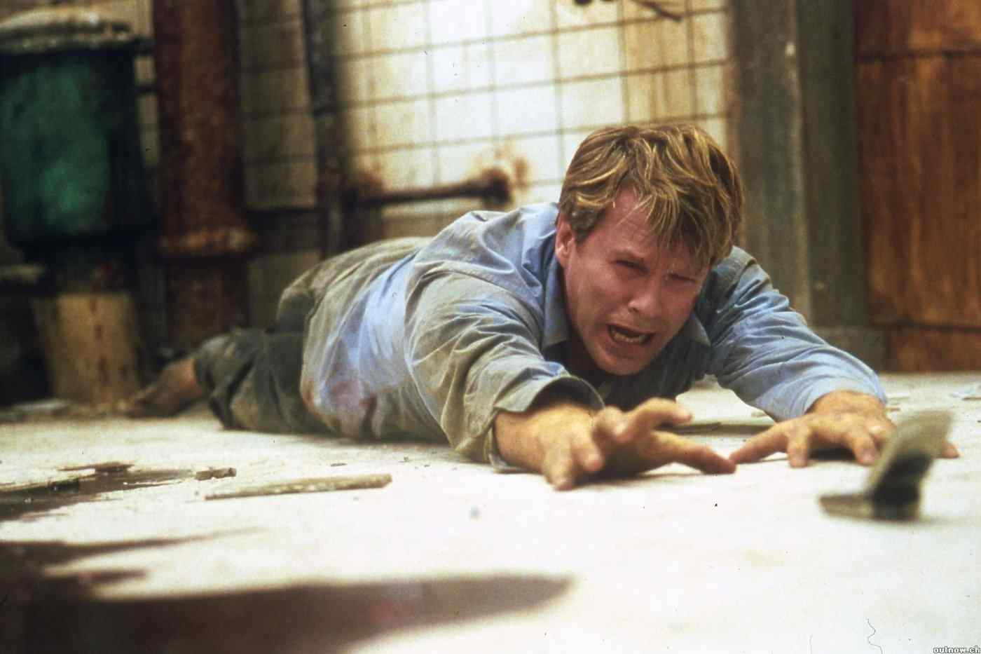 Cary Elwes in James Wan's Saw.