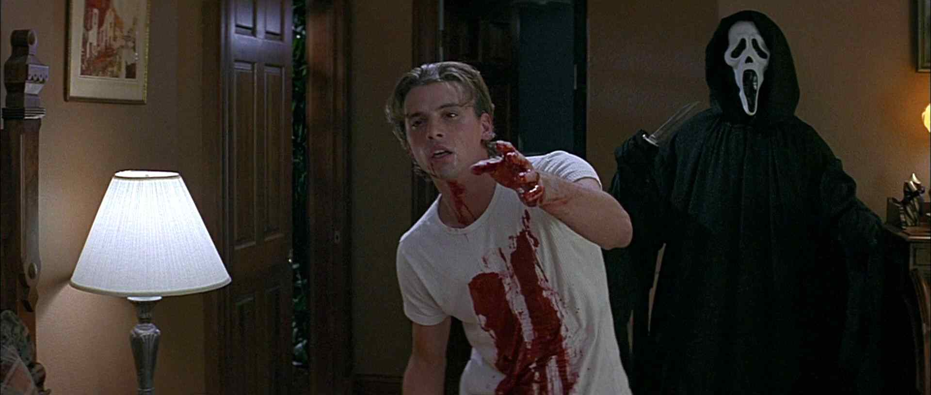 skeet ulrich from wes cravens popular scream franchise.