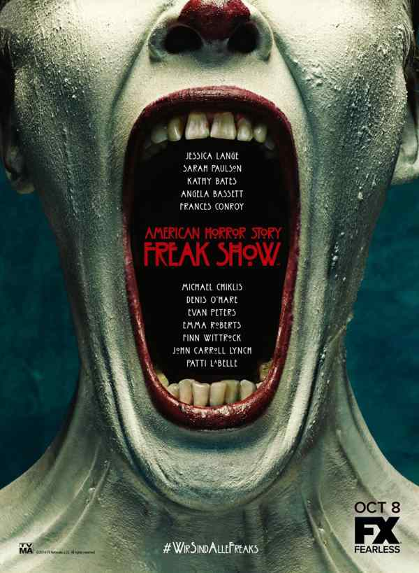 American Horror Story One sheet.
