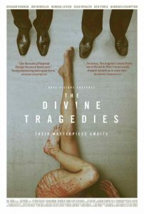 A one-sheet for The Divine Tragedies.