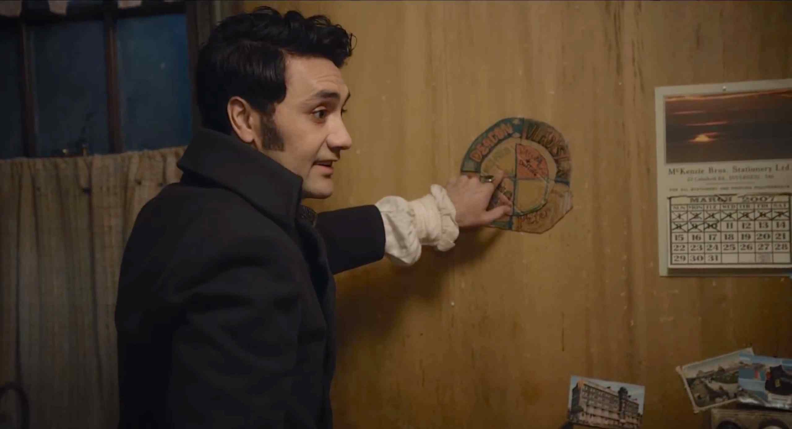 The chore chart in Jemaine Clement and Taika Waititi's vampire horror-comedy What We Do in the Shadows.