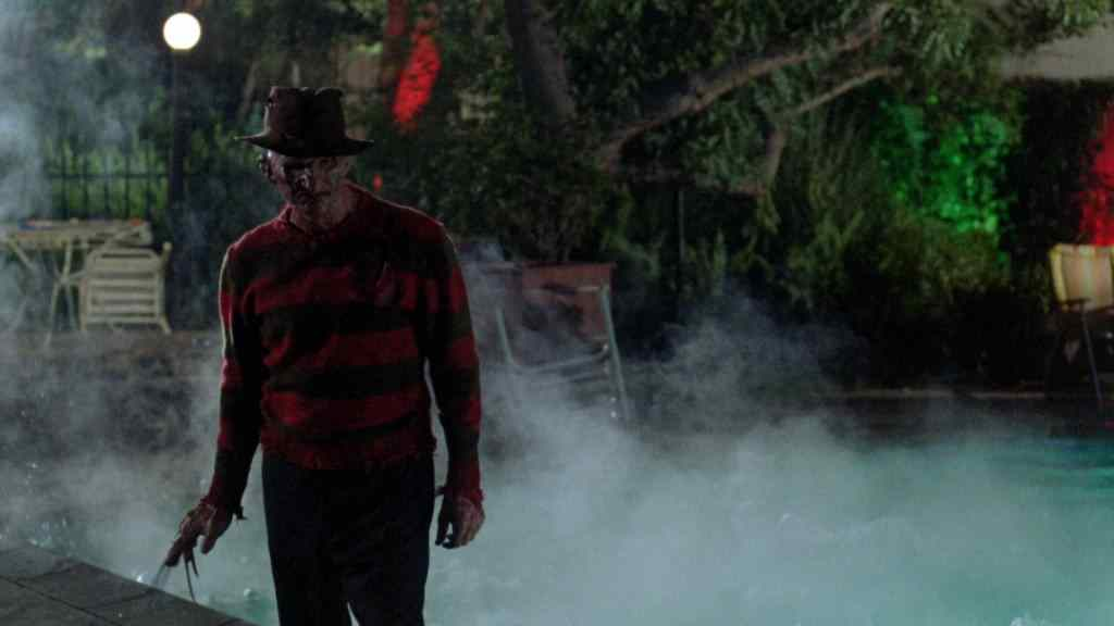 freddy krueger in a nightmare on elm street.