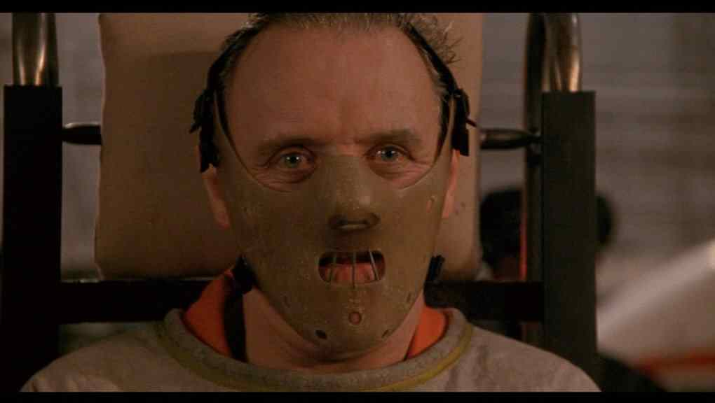 Anthony Hopkins who plays a cannibal in movie The Silence of the Lambs.