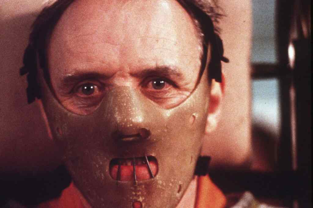 Anthony Hopkins in the hit movie The Silence of the Lambs.