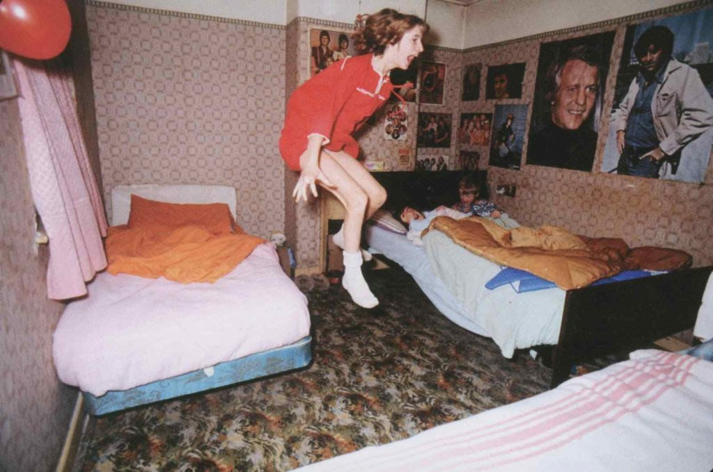 Peggy's 11-year old daughter Janet was discovered levitating and seemingly possessed by the spirit of Bill Wilkins.