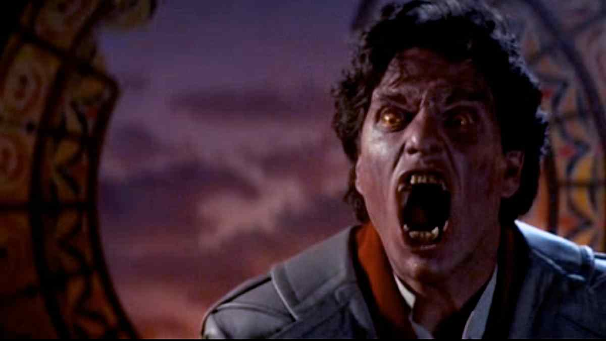 Fright Night 1985 starring Jerry Dandrige and directed by Tom Holland.