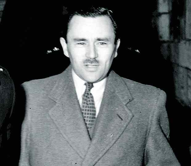 The acid bath murderer Mr John George Haigh.