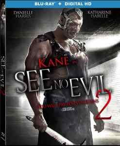 Blu-ray box cover for Jen Soska and Sylvia Soska's See No Evil 2.