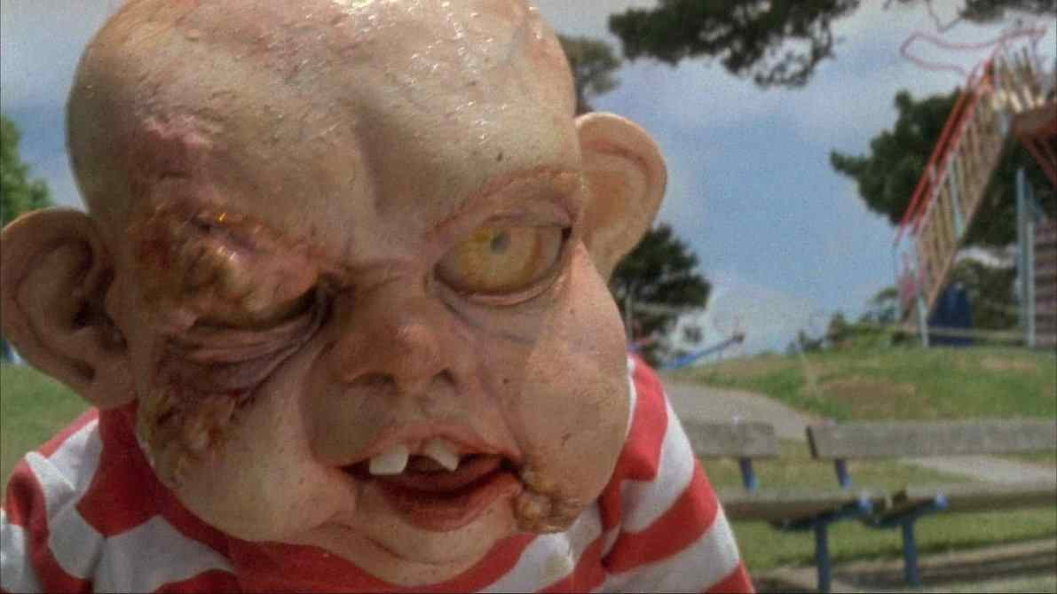 Zombie Baby from Peter Jackson's Dead Alive
