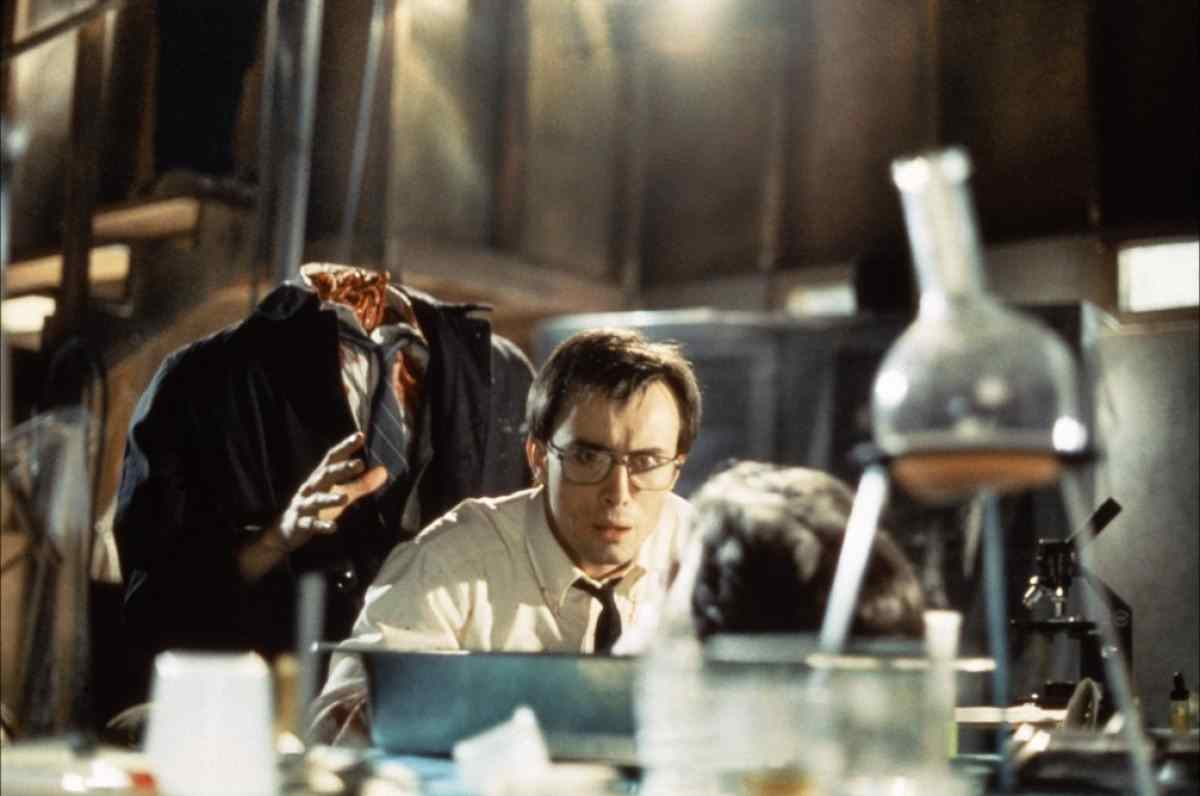 Hill gets the drop on West in Re-Animator