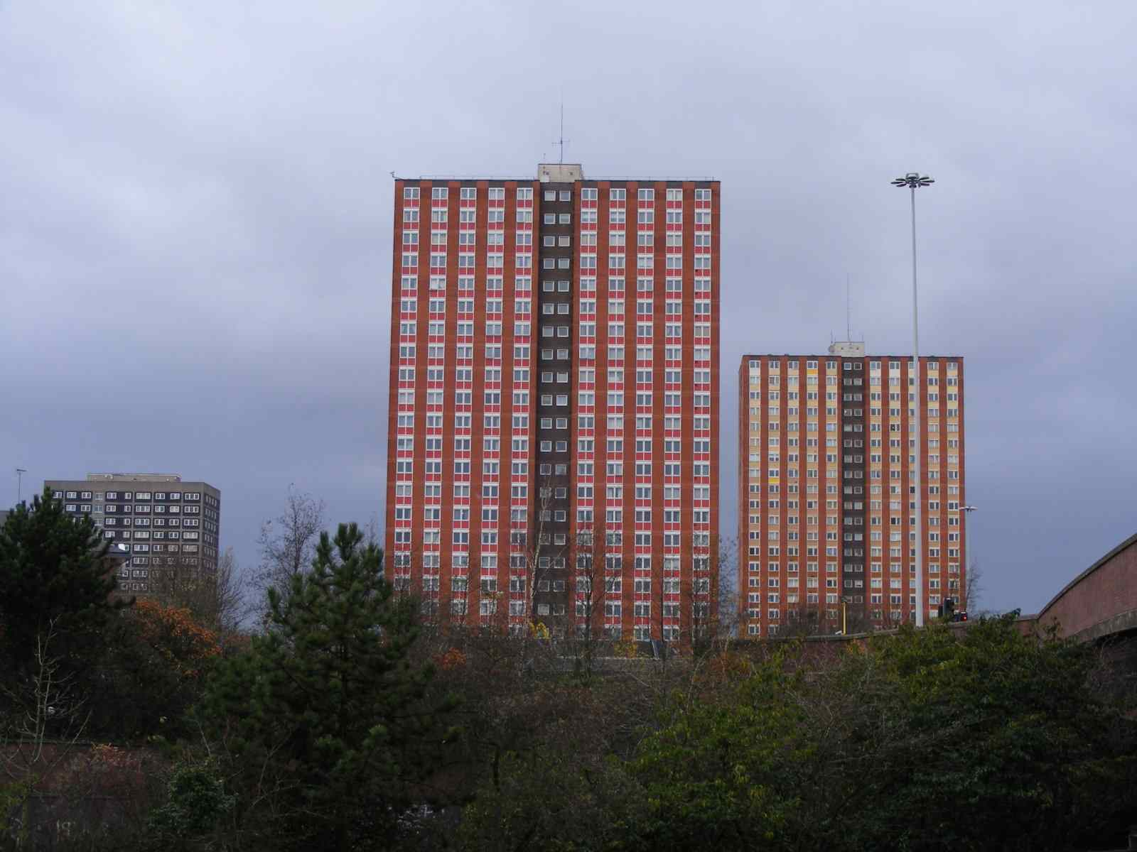 chris saggers fell off washing windows from the salford tower block.