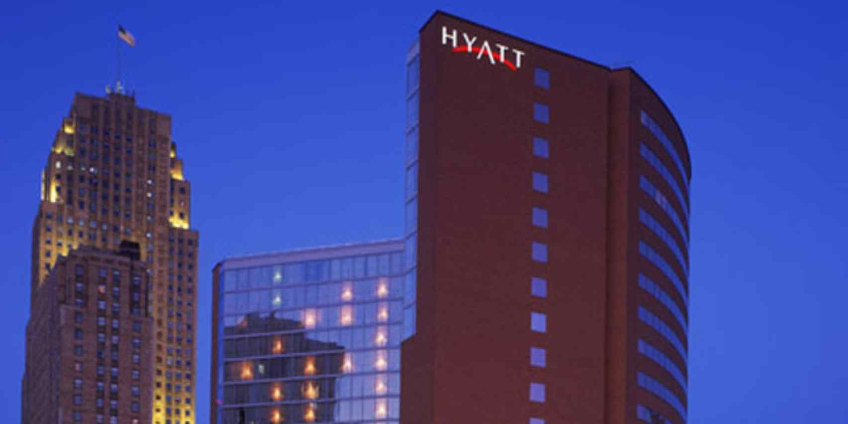 joshua hanson fell from the 17th floor of the hyatt regency.
