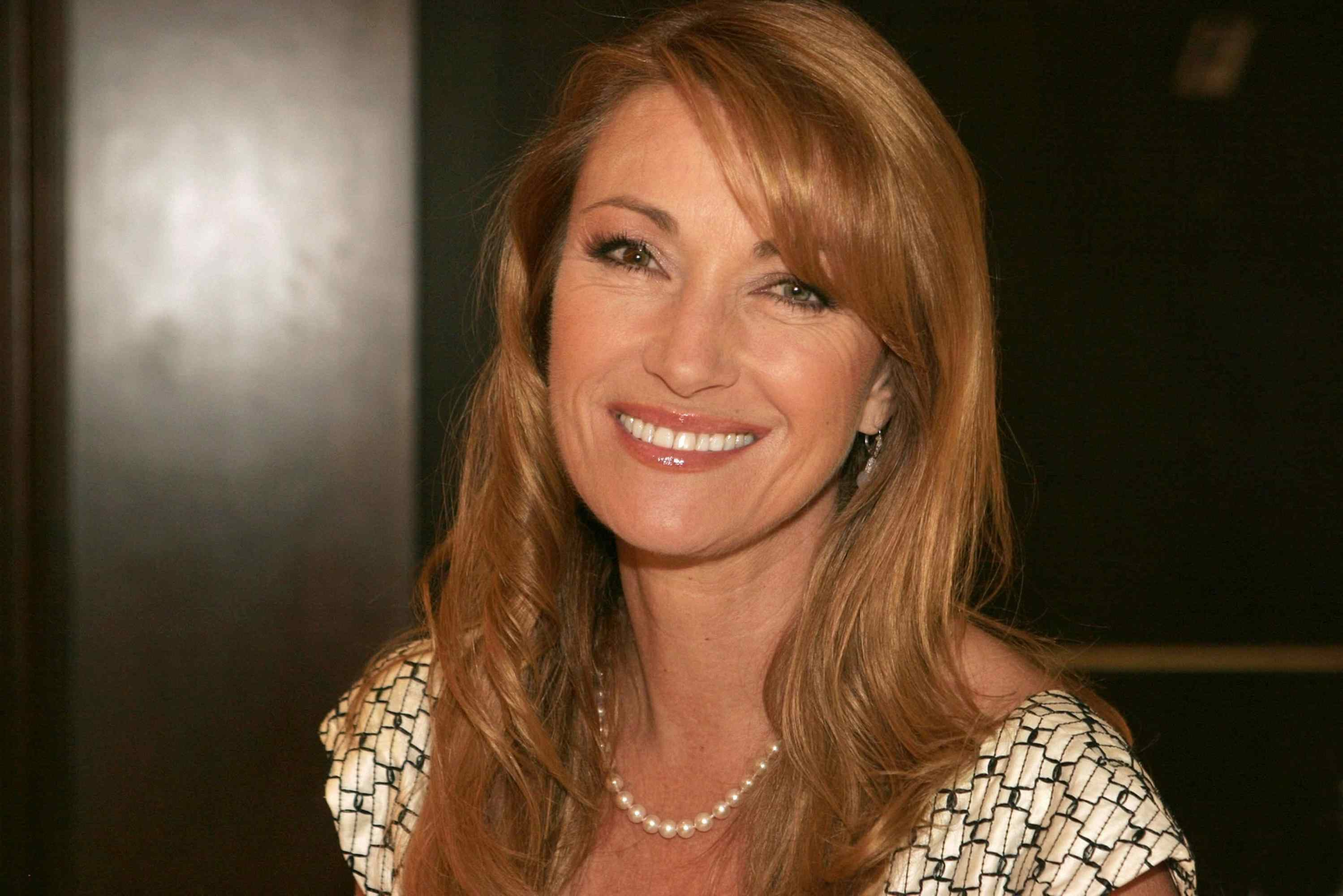 Jane Seymour the actress who has had a near death experience.