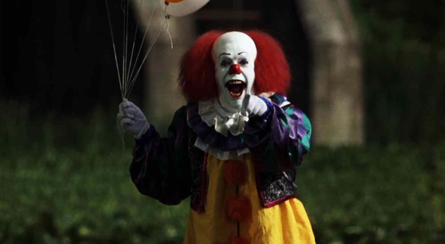 the well known clown played by tim curry from the known author stephen kings novel.