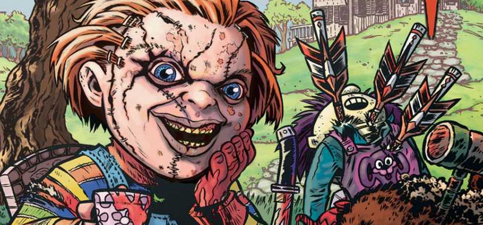 Chucky in Devil's Due Comics' Chucky