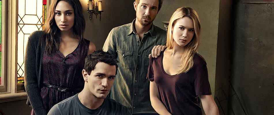 The cast of the US version of Being Human