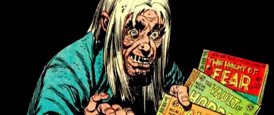 The original Crypt-Keeper from EC Comics wants you to buy all of his titles