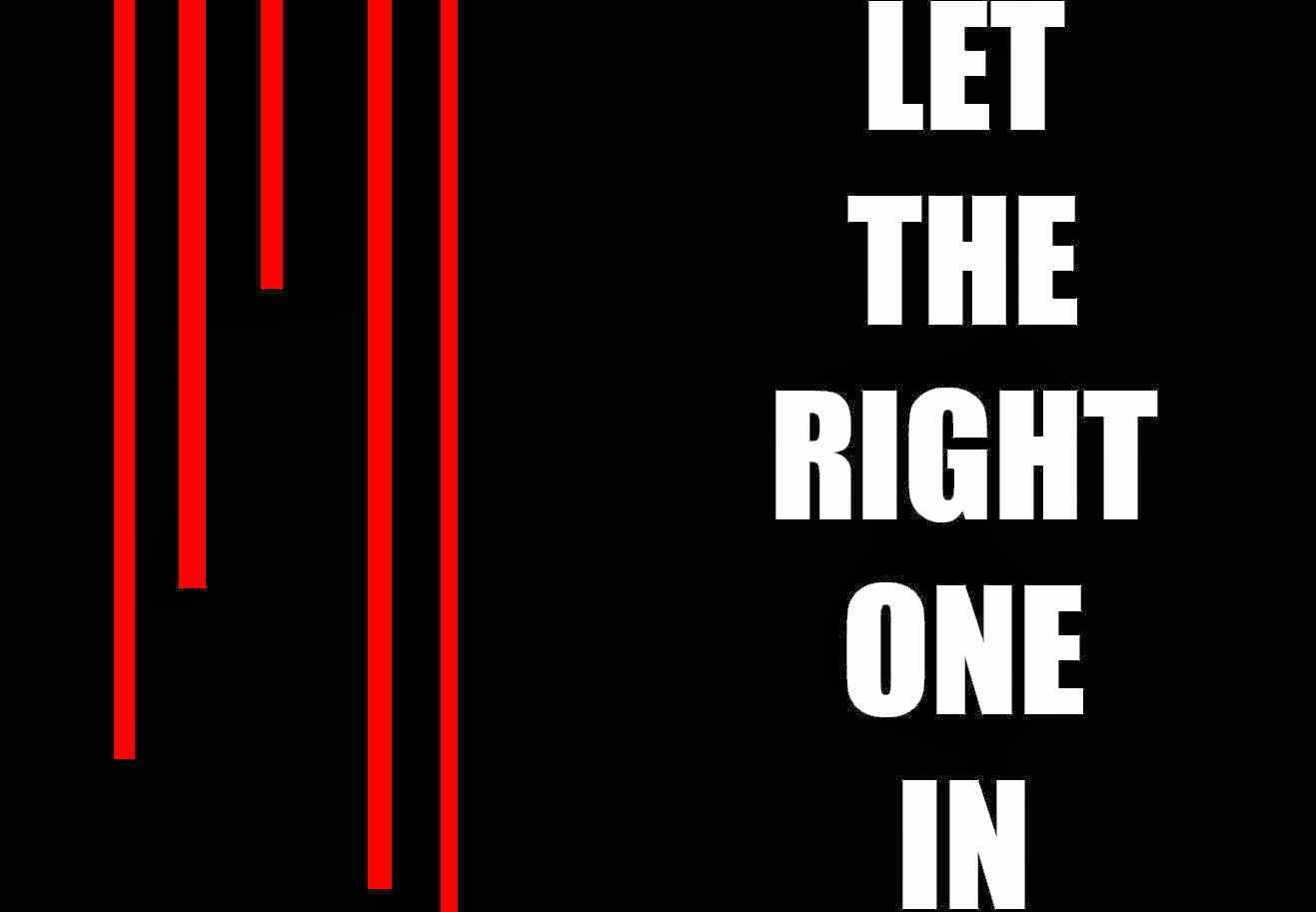 Title picture for Let the Right One In.