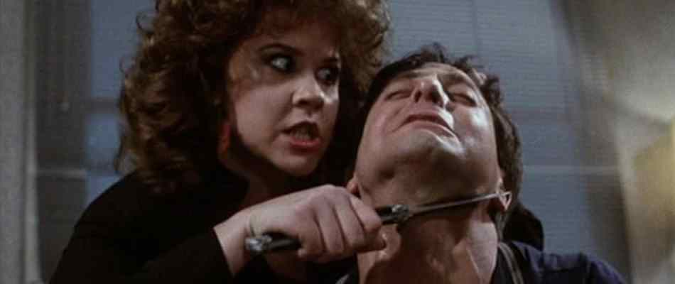Linda Blair will slit your throat in exploitation classic Savage Streets.