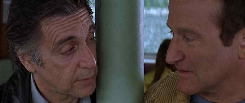 Al Pacino and Robin Williams in Insomnia