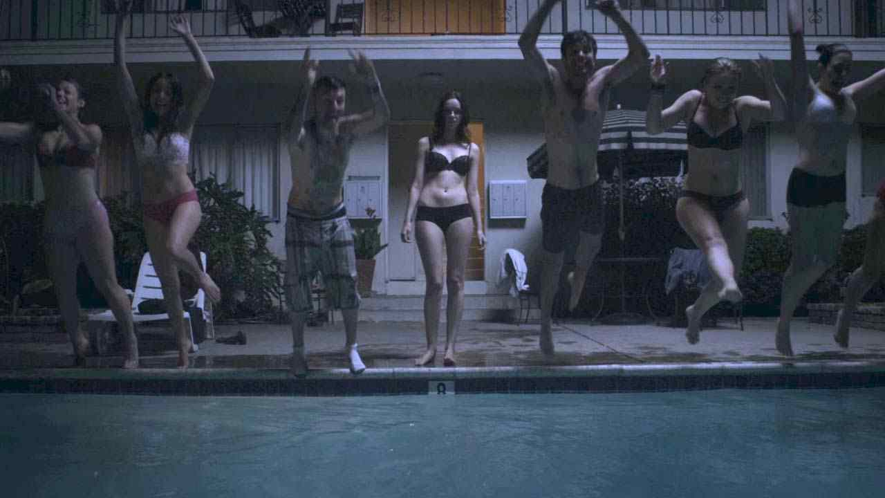 Starry Eyes Pool Scene.