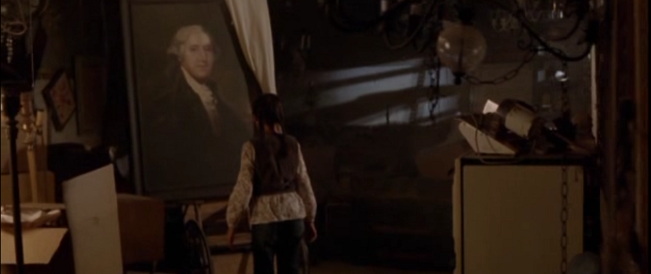 Staring at the portrait of cannibal George Washington in the Washingtonians