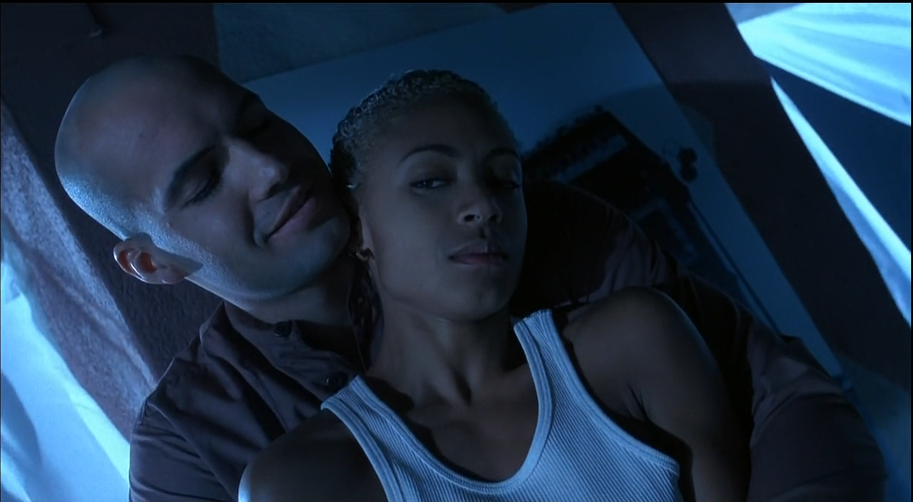 Zane and Pinkett in Demon Knight 1995