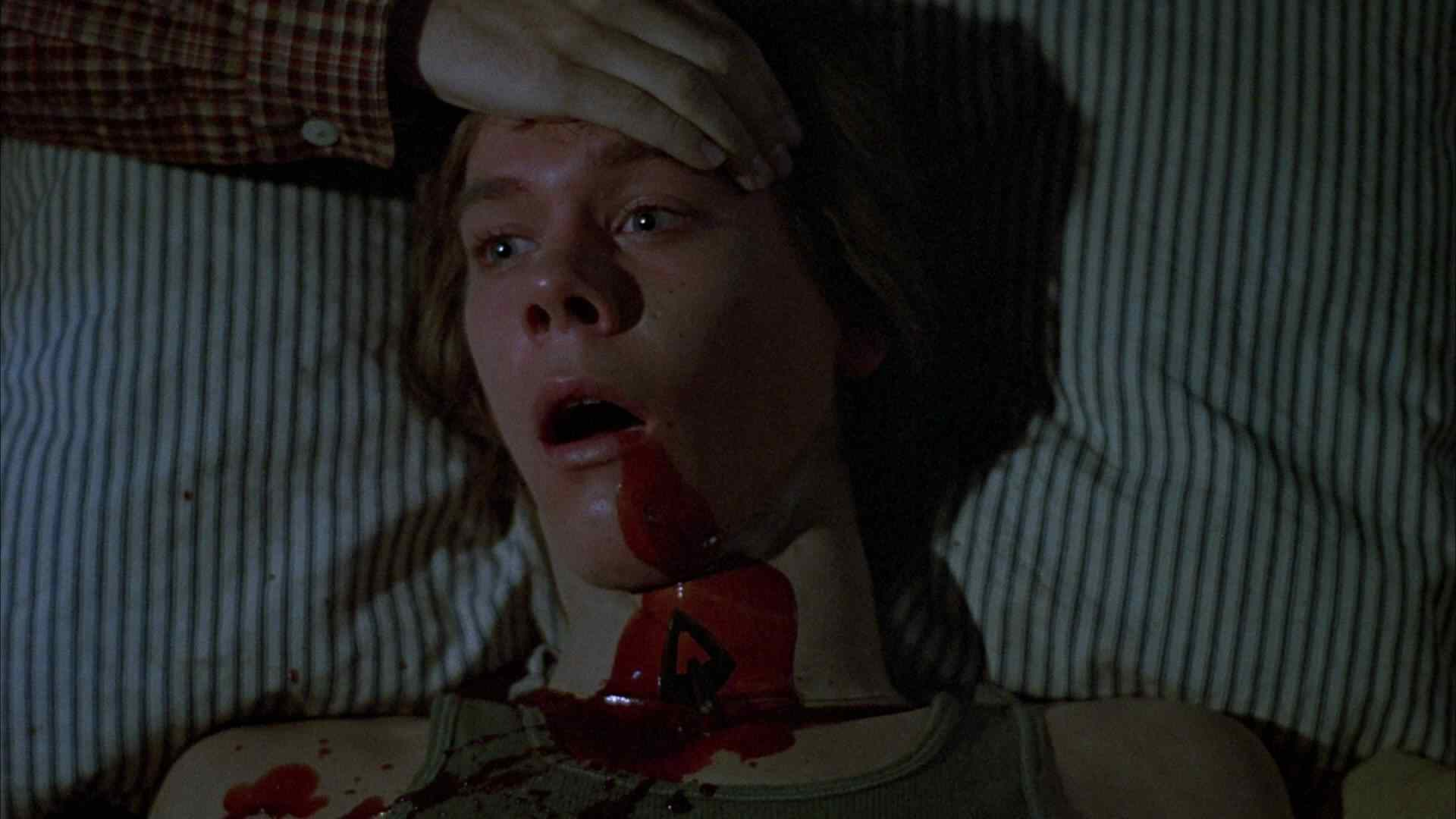 Kevin Bacon as Jack in Friday the 13th