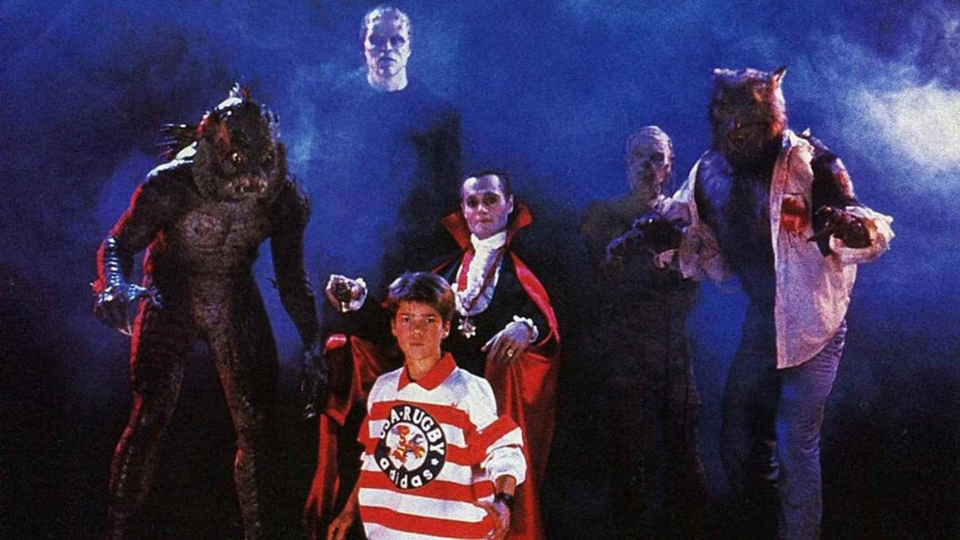 Sean and the Monsters in The Monster Squad