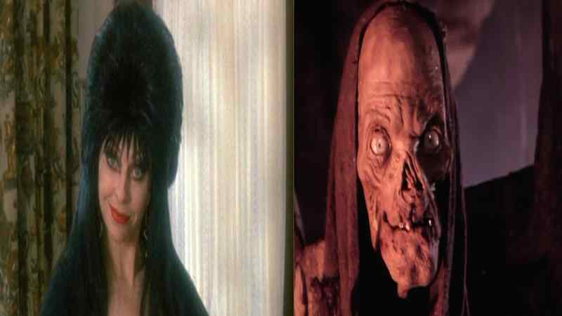Elvira and The Cryptkeeper
