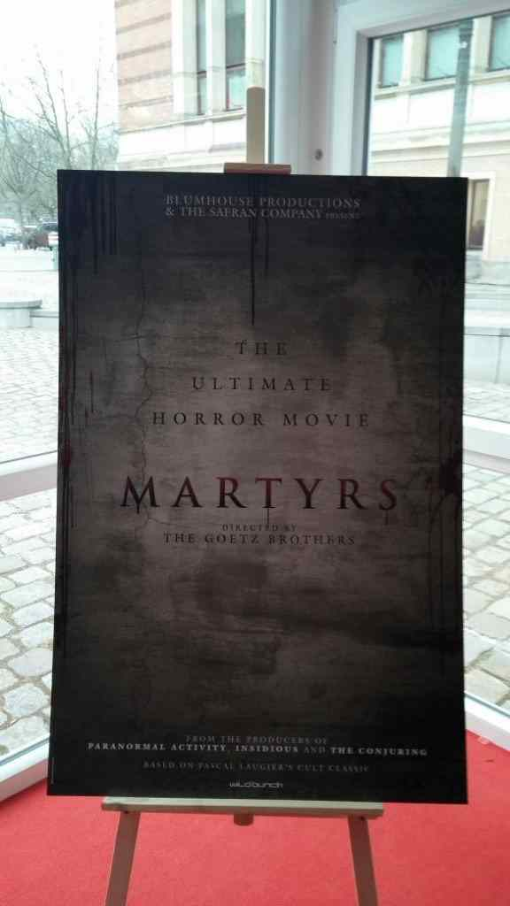 Martyrs Sales Poster.
