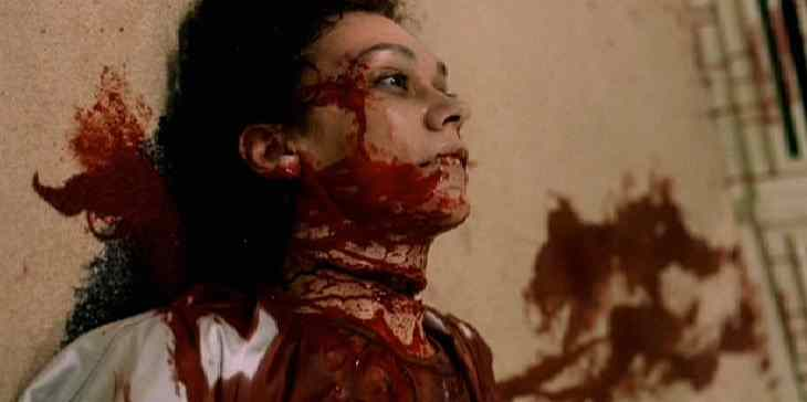 The throat cut in High Tension