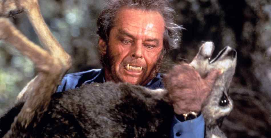 Jack Nicholson as the werewolf from 1994's Wolf.