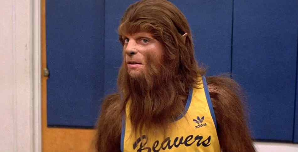 Werewolf Michael J. Fox from Teen Wolf