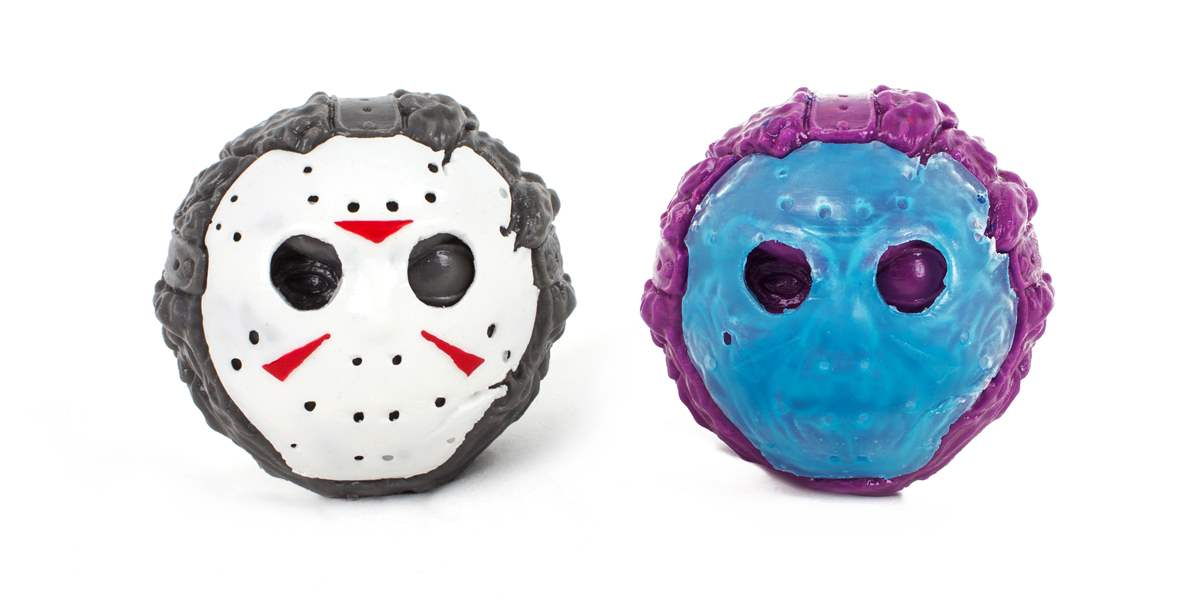 Friday the 13th Electric Zombie Deadhead Balls.