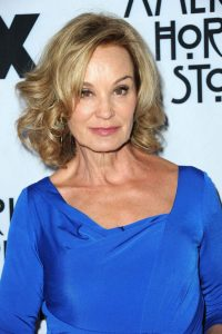 Jessica Lange at an American Horror Story event.